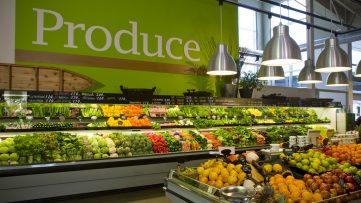 Fresh green groceries.