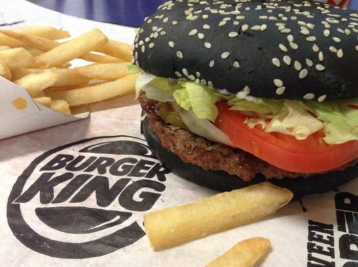 Burger King's Halloween Wopper