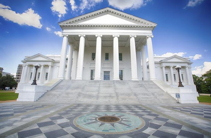 Virginia state hall.