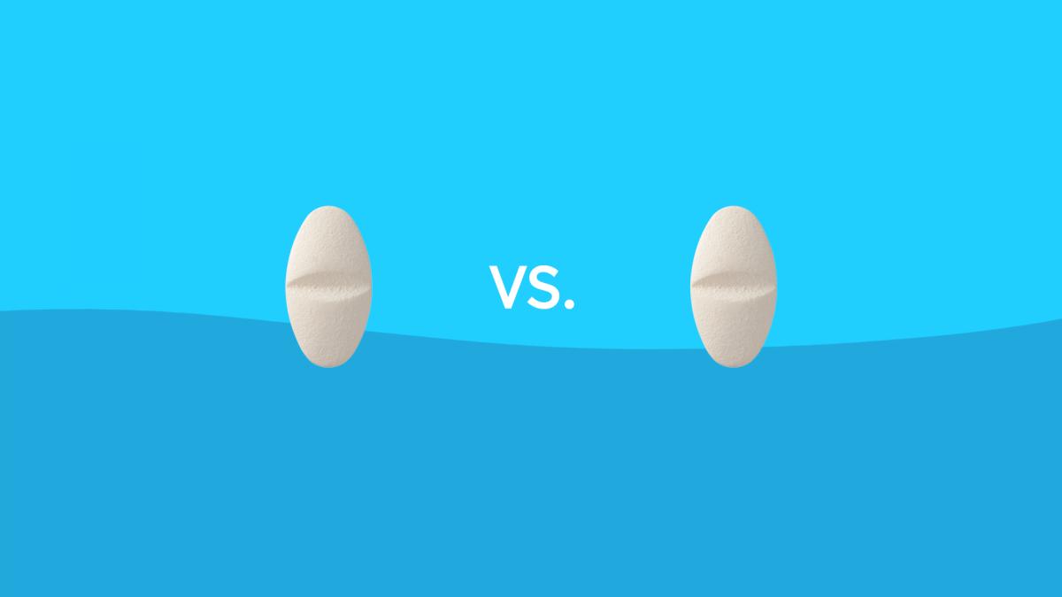 Allegra vs. Claritin drug comparison
