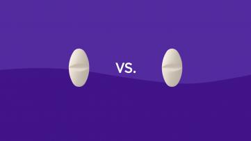Valium vs Xanax drug comparison