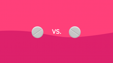 Meloxicam vs. ibuprofen drug comparison