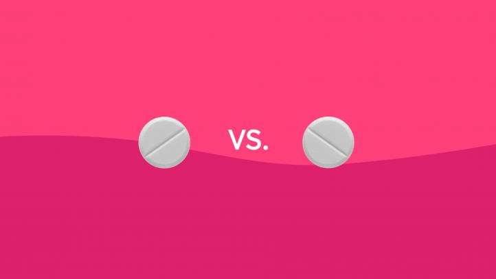 Meloxicam vs. ibuprofen drug comparison