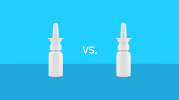 Afrin vs Flonase nasal spray comparison