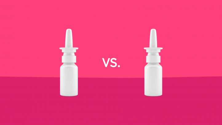Flonase vs. Nasacort nasal spray comparisons
