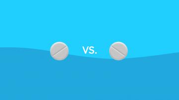 Naproxen vs. ibuprofen drug comparison