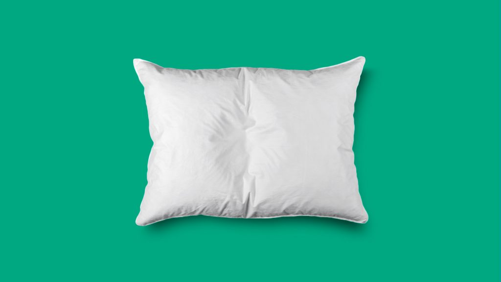 Postdrome phase after migraine; pillow