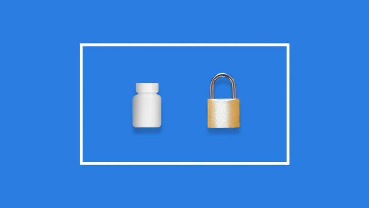 Safe medication storage at home