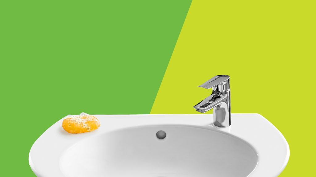 sink and soap -- why kids get sick at school