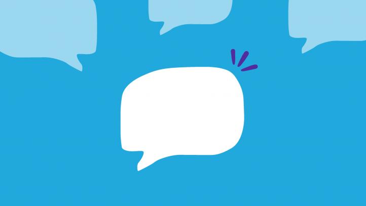 A conversation bubble represents SingleCare's favorite pharmacist stories