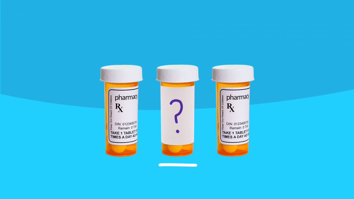Off-Label Prescription Drugs - pill bottles