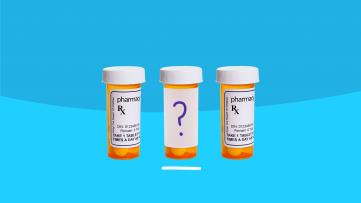 Off-Label Prescription Drugs - pill bottles