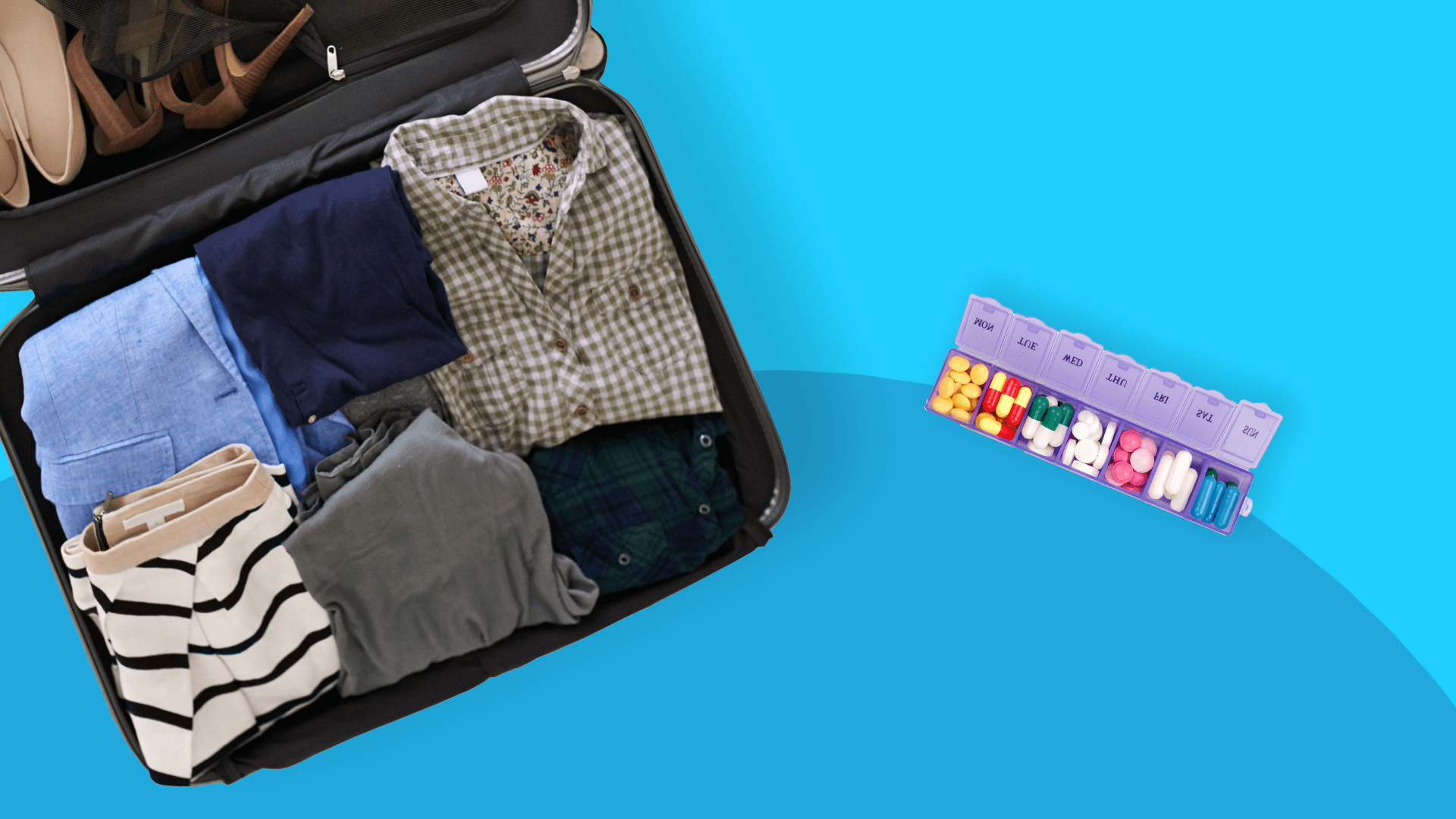 Planning a trip? Make sure to complete this medication checklist