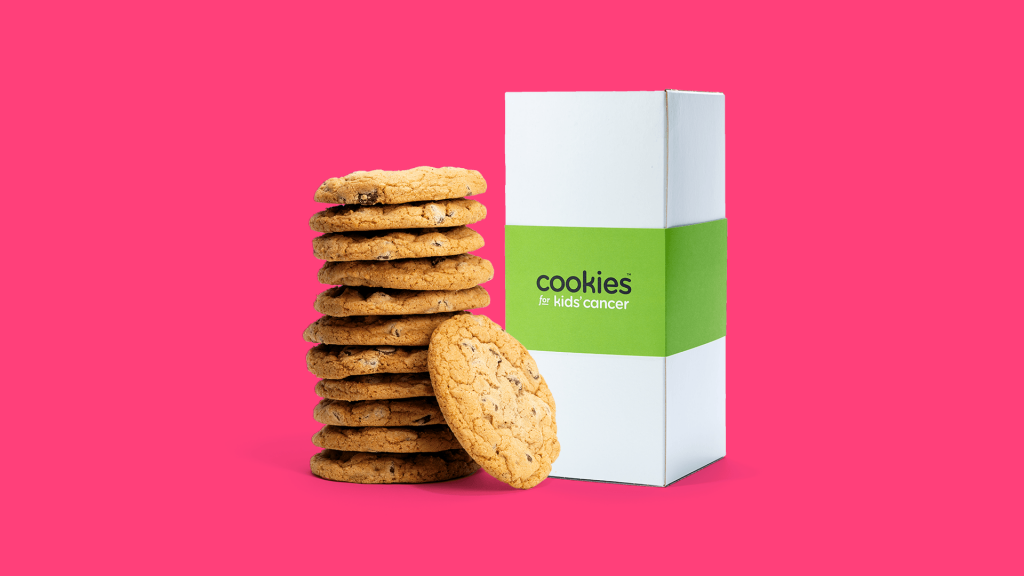 Gifts that give back: Cookies for Kids Cancer