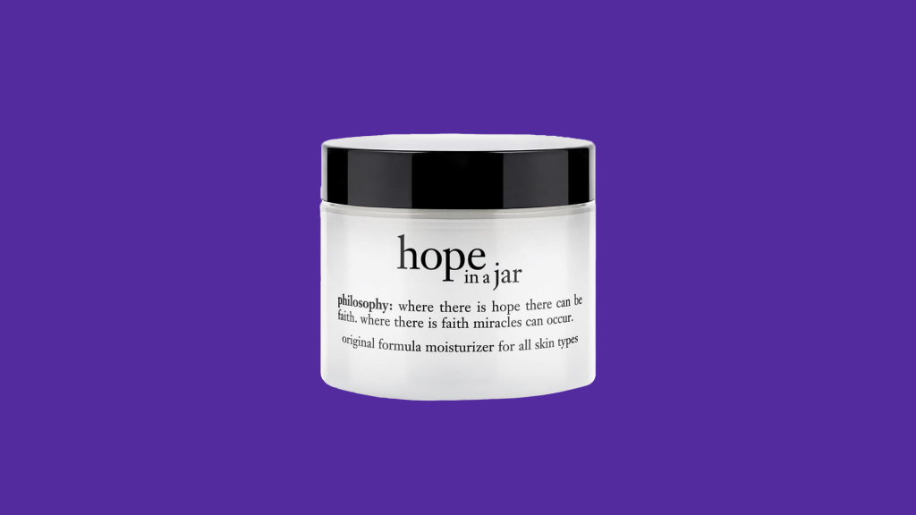 Gifts that give back: Philosophy Hope in a Jar