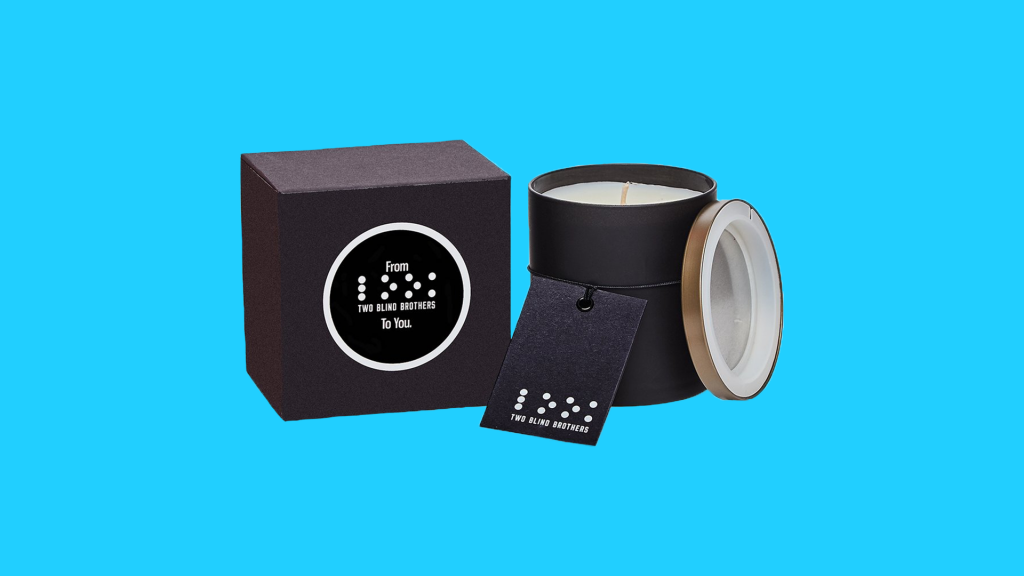 Gifts that give back: Two blind brothers candle