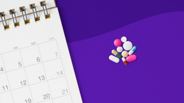 The most prescribed drugs each month