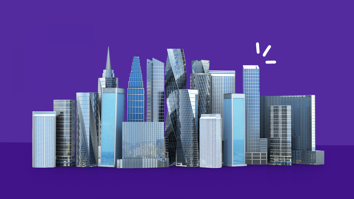A skyline represents the most prescribed drugs in big cities