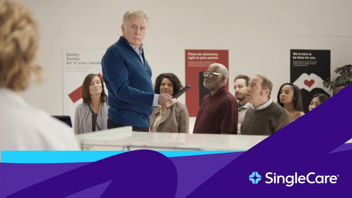 Martin Sheen in SingleCare commercial