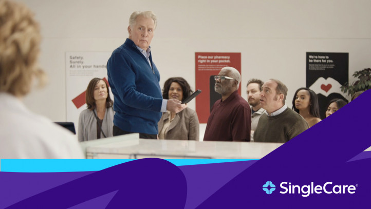 Martin Sheen in SingleCare commercial