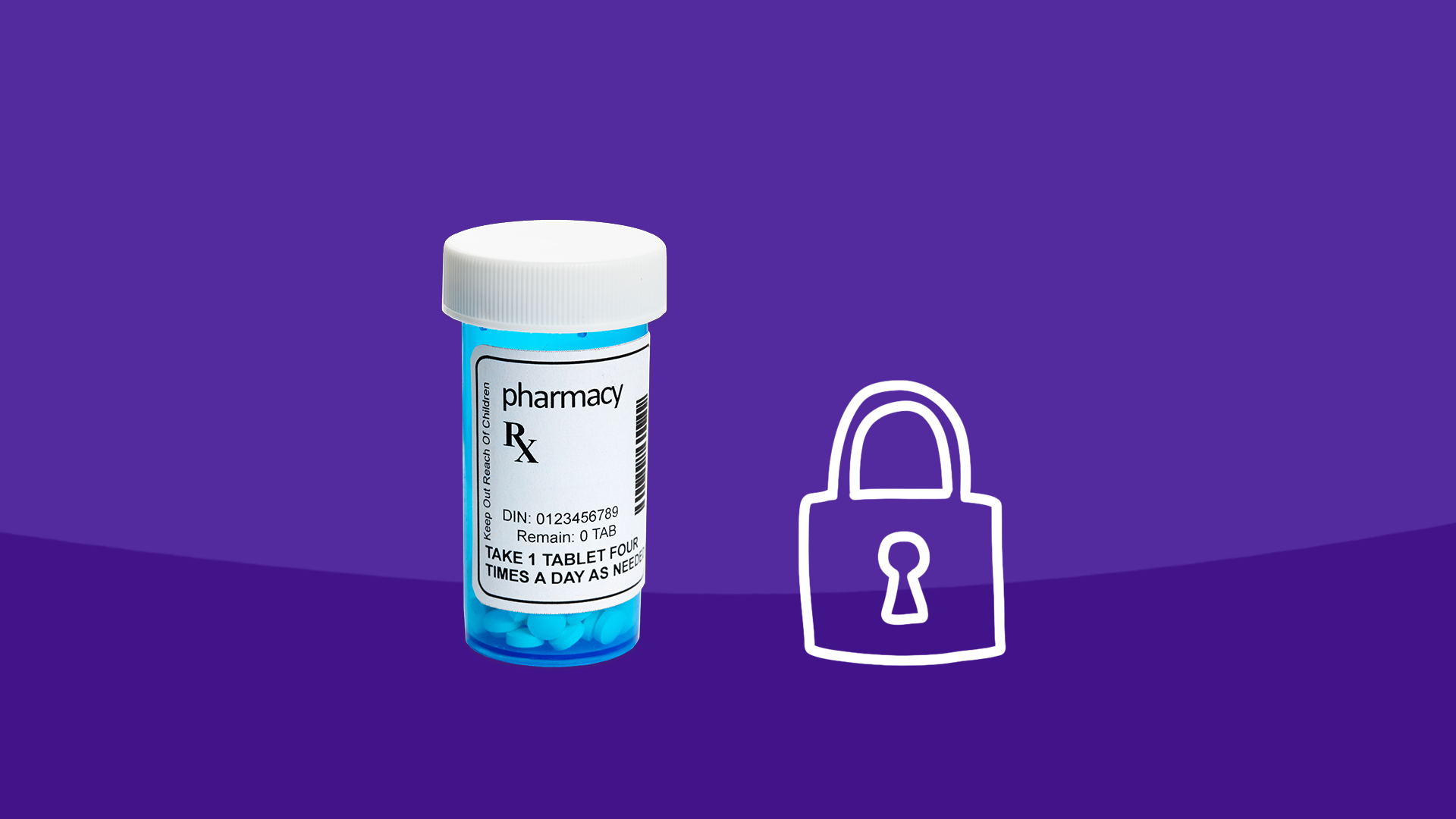 Practice safe medication storage with children at home