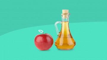 An image of apple cider vinegar for weight loss