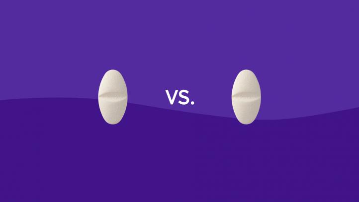 Zoloft vs. Prozac drug comparison
