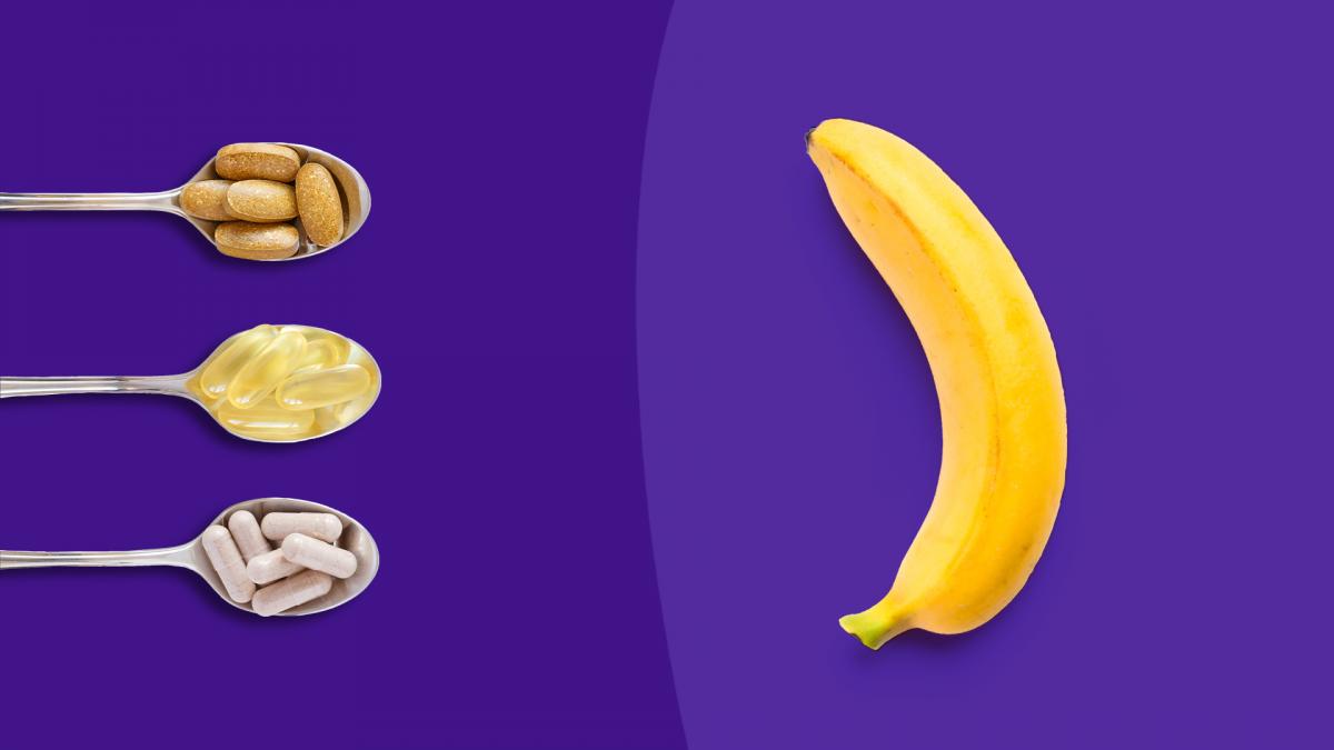 Banana - can vitamins treat erectile dysfunction