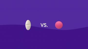 Acetaminophen vs. Ibuprofen comparison