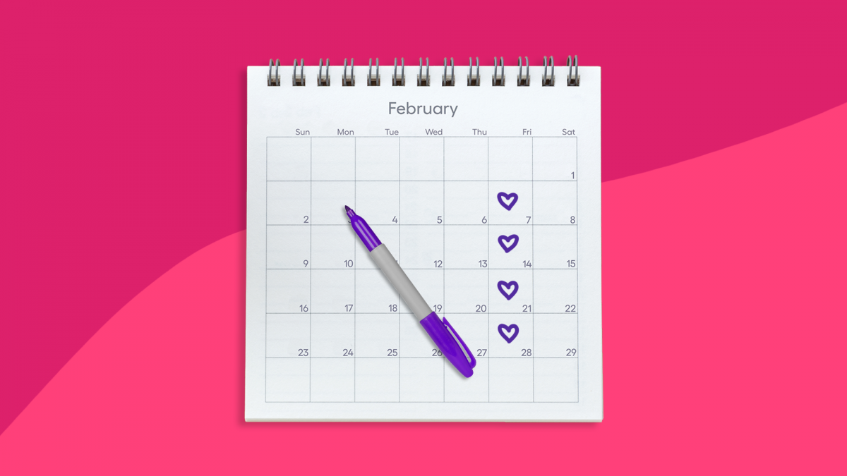 A calendar of the most romantic days based on erectile dysfunction drugs
