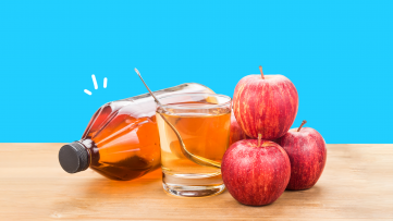An image of the health benefits of apple cider vinegar