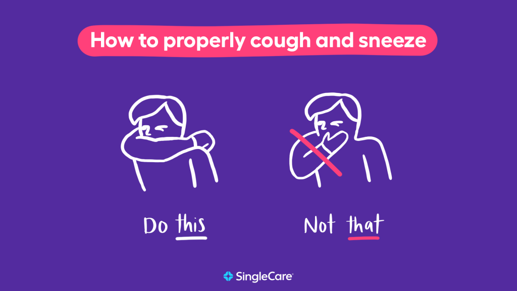 Respiratory hygiene tip: Avoid coronavirus transmission by practicing the vampire cough method
