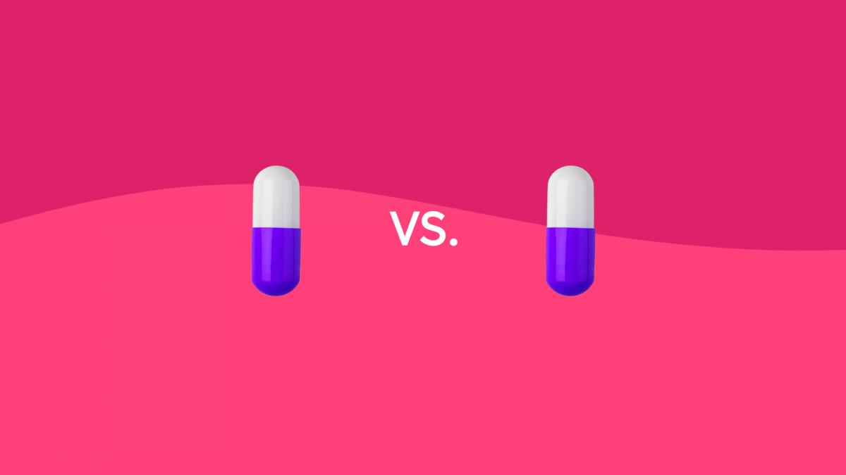 Amoxicillin vs penicillin antibiotic drug comparison