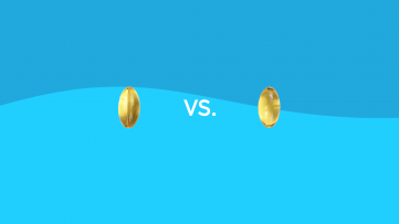 Vitamin D vs. D3 - capsules