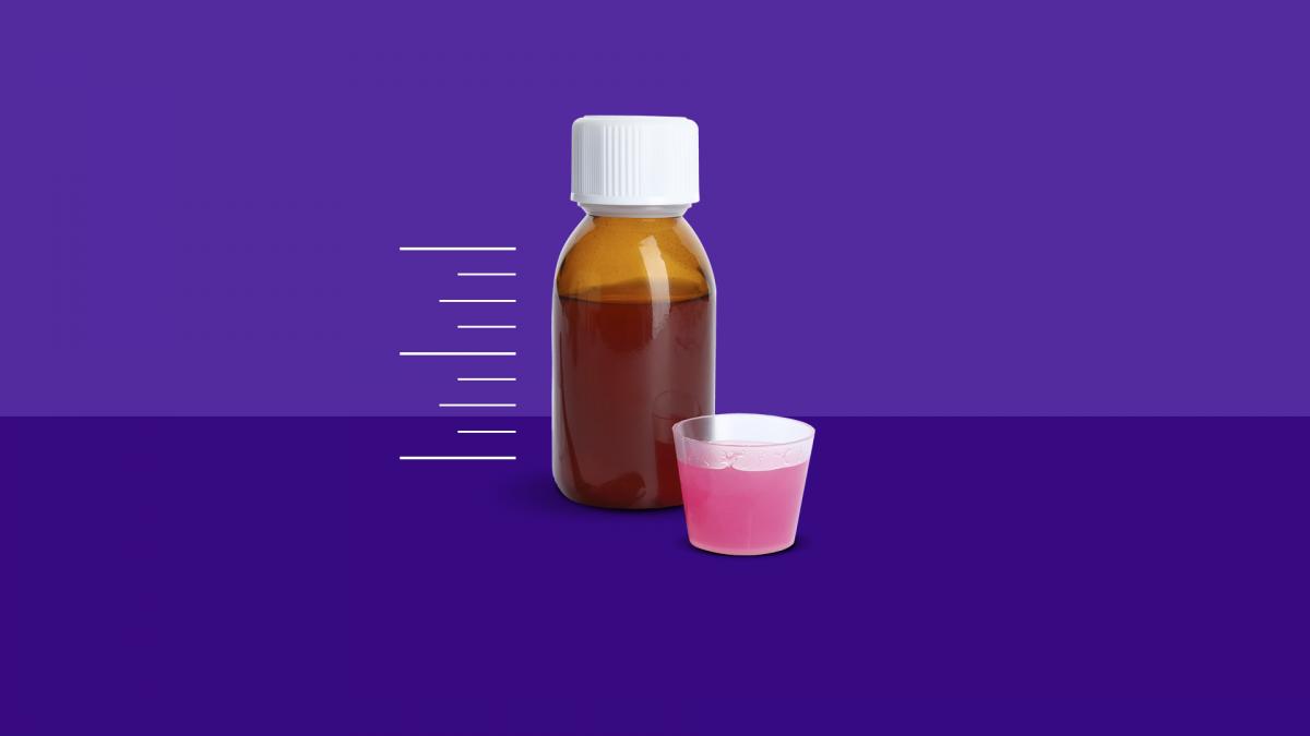 how to measure liquid medication - medicine bottle