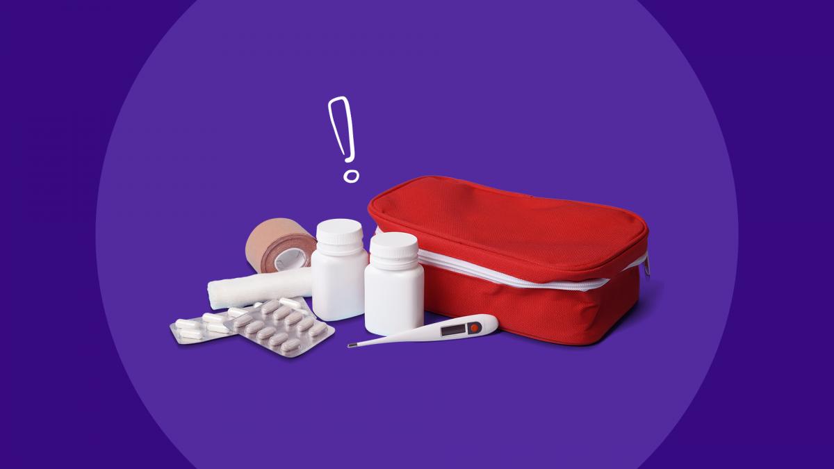 Medication Disaster Plan First Aid Kit