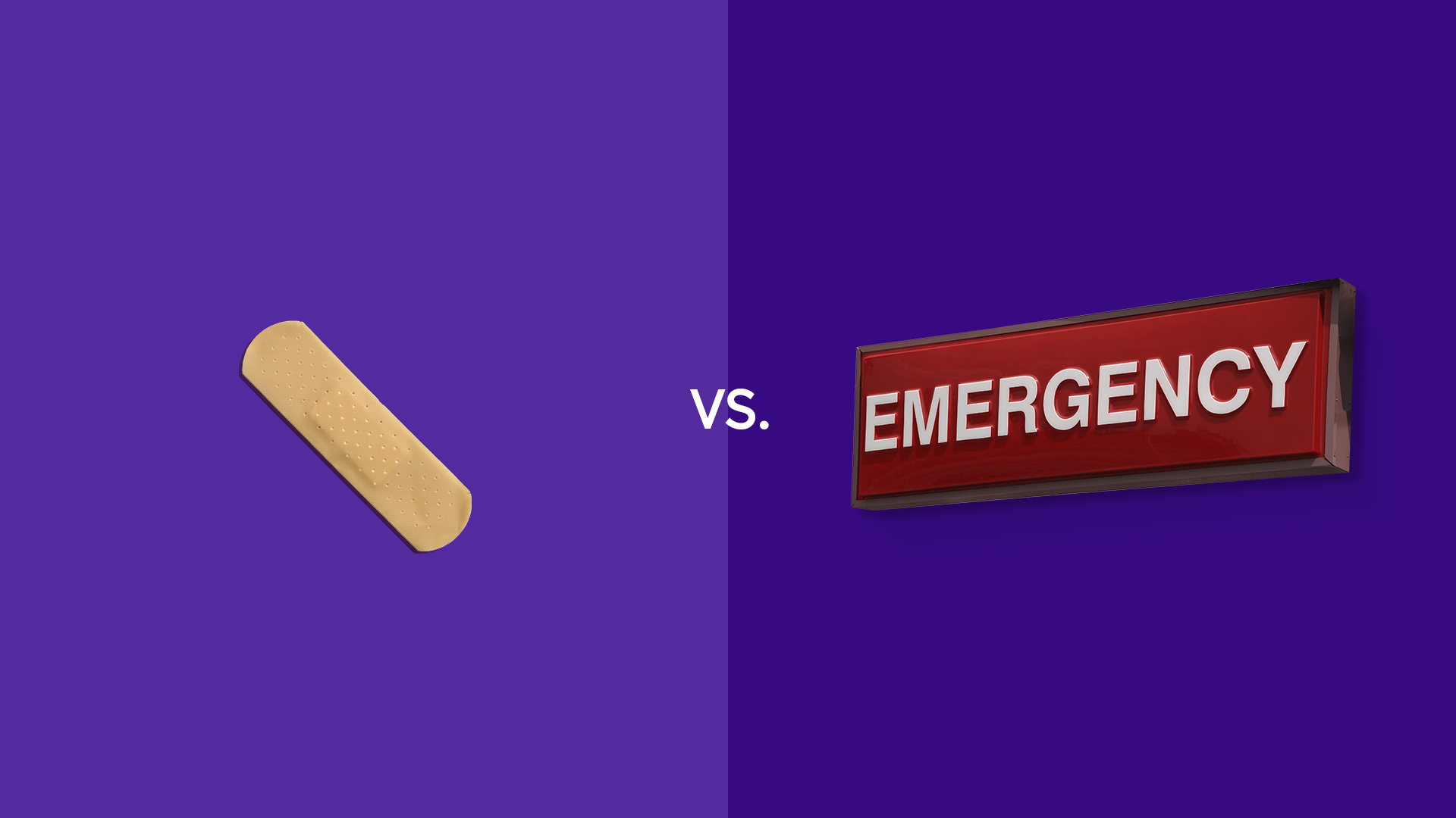 Urgent care vs. emergency room visits: What's the difference?