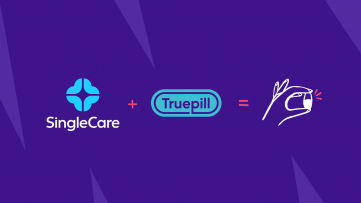 SingleCare logo and Truepill logo
