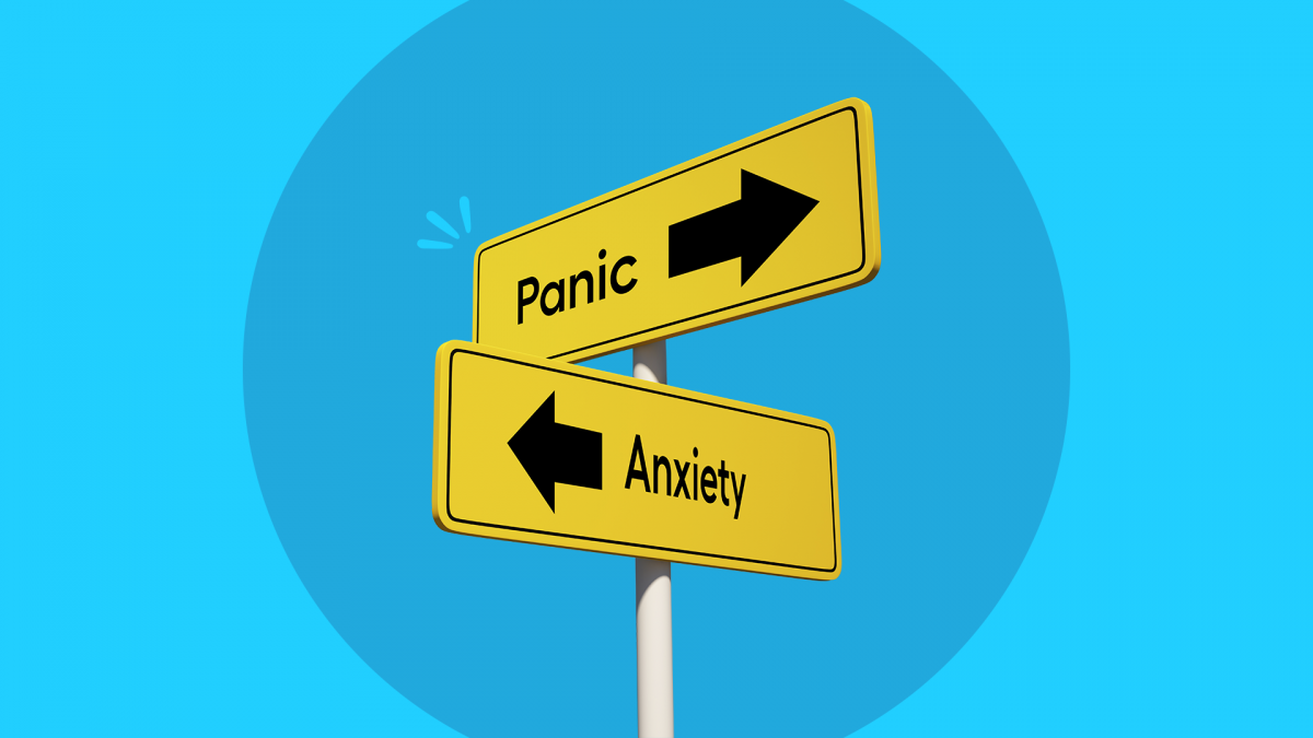 anxiety attack vs. panic attack