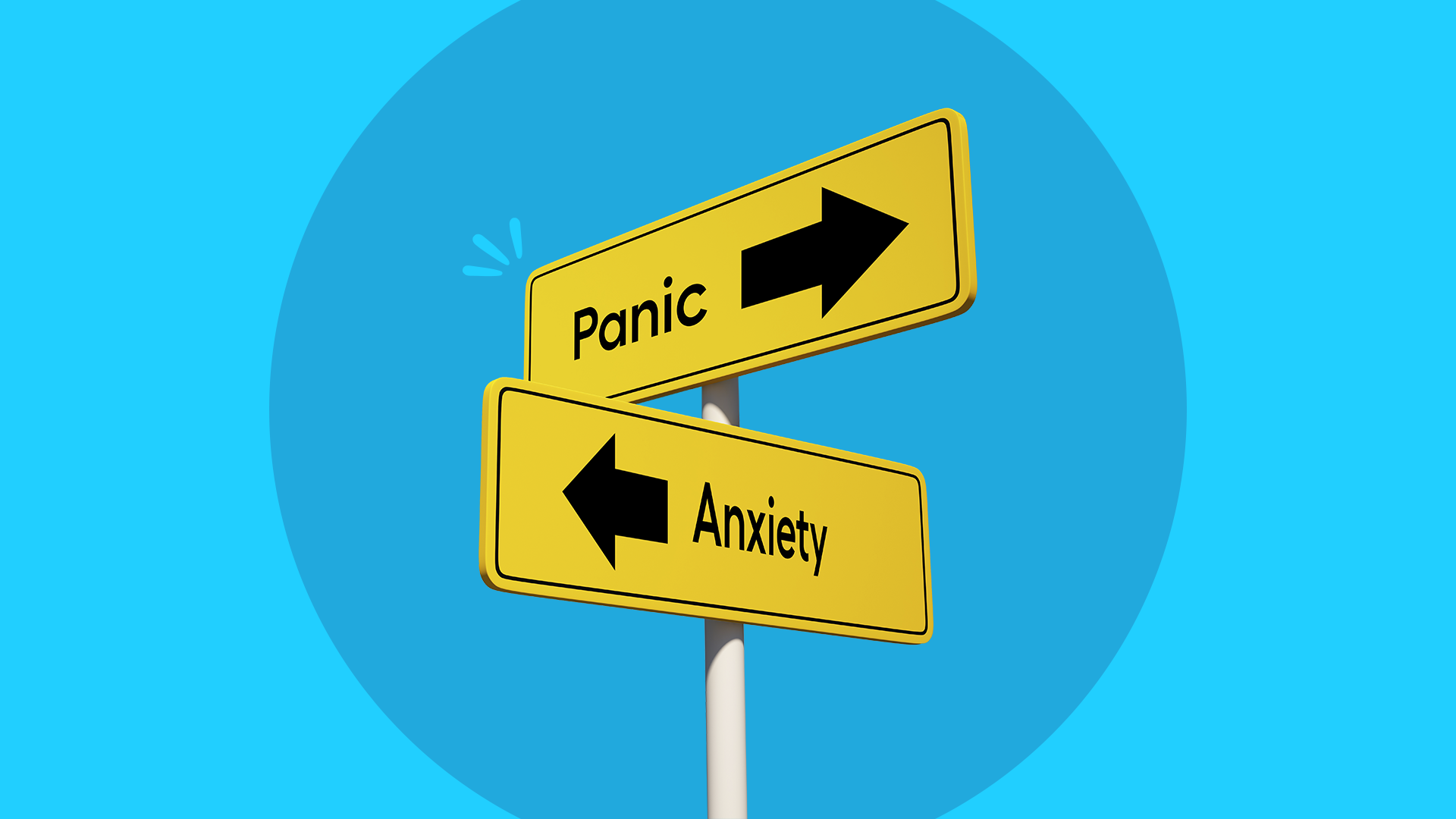 How to tell the difference between an anxiety attack and a panic attack
