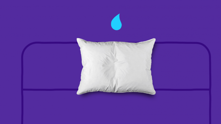 Night Sweats (Picture of Pillow and Moisture)