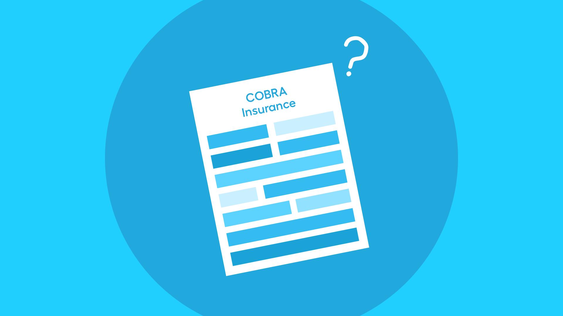What is COBRA health insurance?