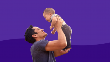 Dad's preconception health - with baby