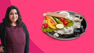 Shaili Ghandi supports Diabetes Awareness Month