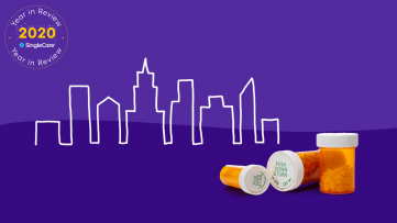 Most prescribed drugs by city in 2020