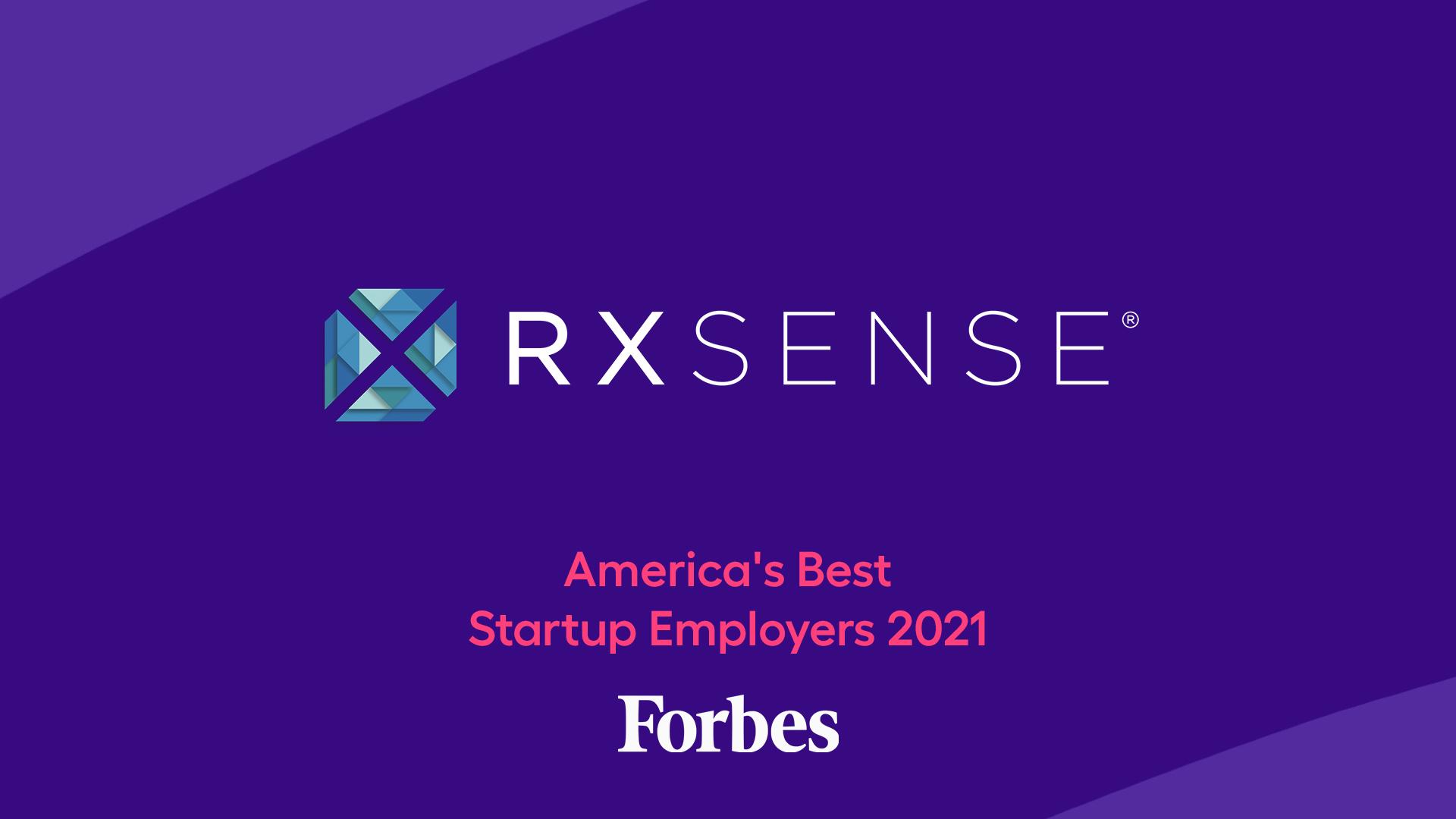 RxSense wins America's Best Startup Employers 2021 award