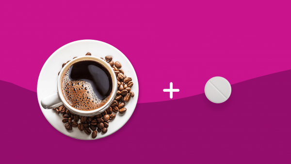 Can you drink coffee with aspirin?